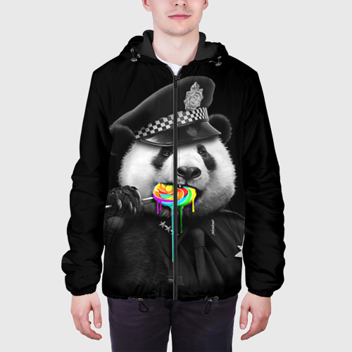 Мужская куртка 3D  Фото 04, Панда и карамель