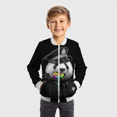 Детский бомбер 3D  Фото 05, Панда и карамель