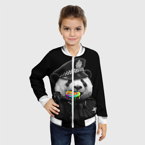 Детский бомбер 3D  Фото 06, Панда и карамель