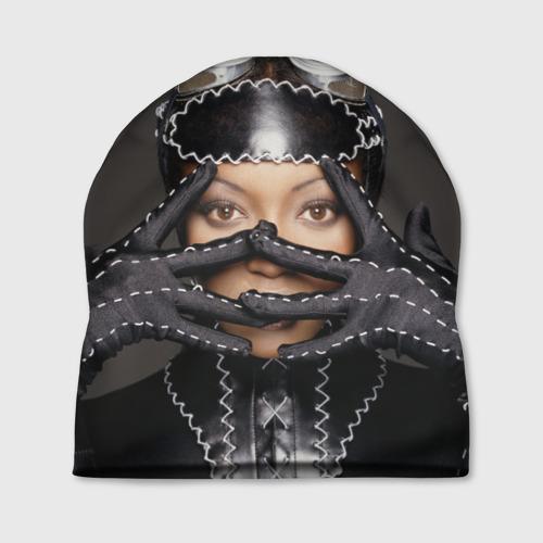 Шапка 3D Наоми Кэмпбелл