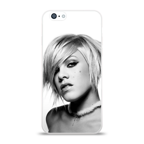 Чехол для Apple iPhone 6 силиконовый глянцевый  Фото 01, Пинк