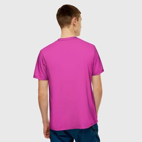 Мужская футболка 3D  Фото 02, Пинк