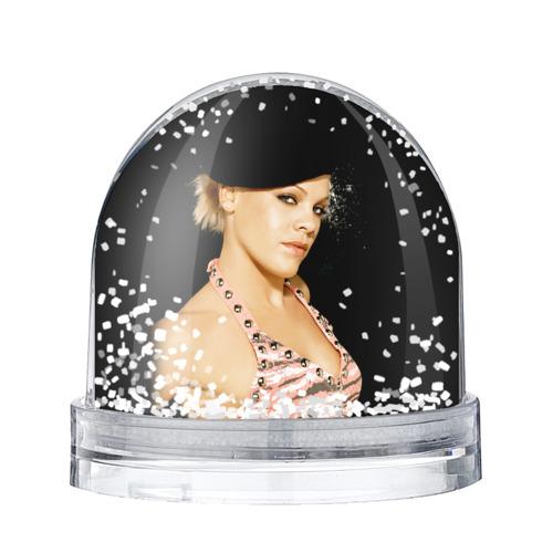 Водяной шар со снегом Пинк