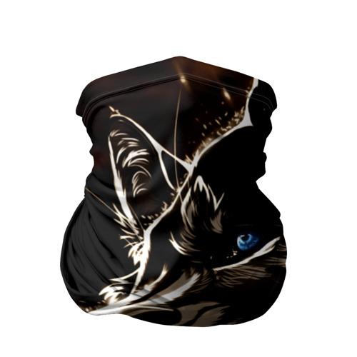 Бандана-труба 3D Anime Wolf