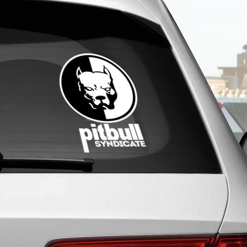 Наклейка на автомобиль Pitbull Фото 01