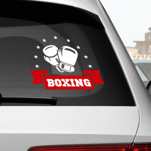 Наклейка на автомобиль  Фото 02, Boxing