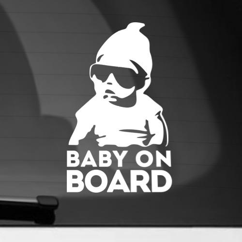 Наклейка на автомобиль  Фото 01, Baby