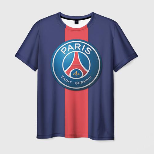 Мужская футболка 3D  Фото 03, Пари Сен-Жермен