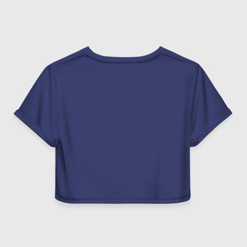Женская футболка 3D укороченная  Фото 02, Пари Сен-Жермен