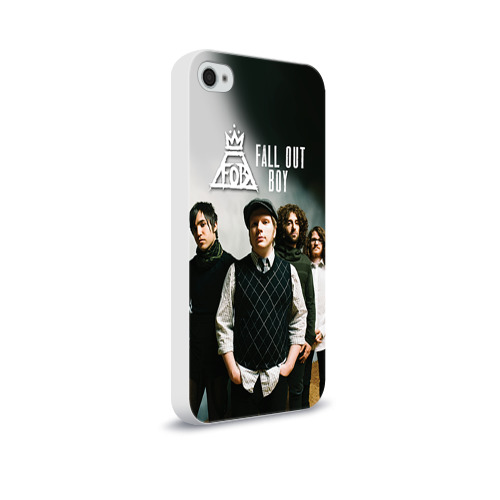 Чехол для Apple iPhone 4/4S soft-touch  Фото 02, Fall out boy