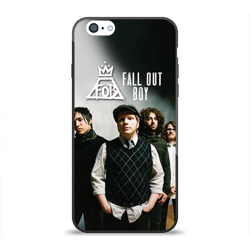 Чехол для Apple iPhone 6 силиконовый глянцевый Fall out boy от Всемайки