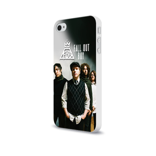 Чехол для Apple iPhone 4/4S soft-touch Fall out boy