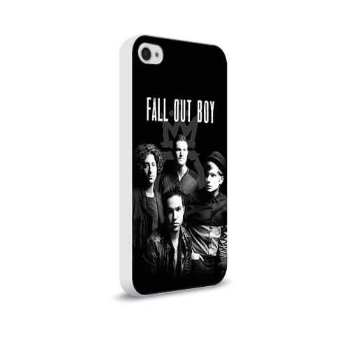 Чехол для Apple iPhone 4/4S soft-touch  Фото 02, Группа Fall out boy