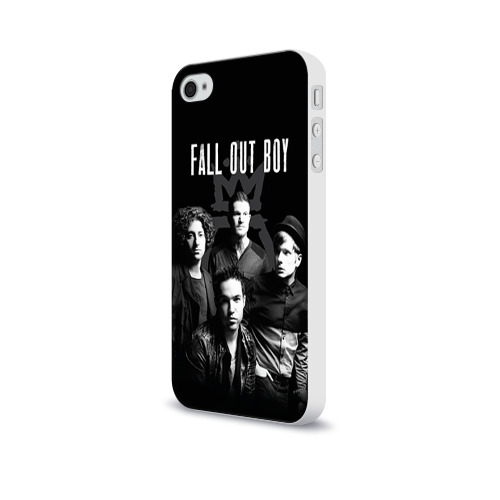 Чехол для Apple iPhone 4/4S soft-touch  Фото 03, Группа Fall out boy