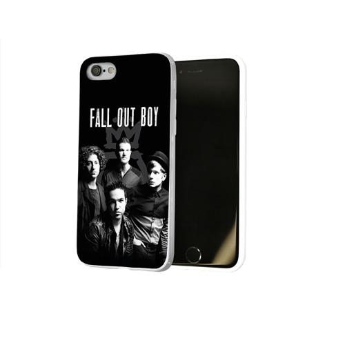 Чехол для Apple iPhone 8 силиконовый глянцевый  Фото 02, Группа Fall out boy