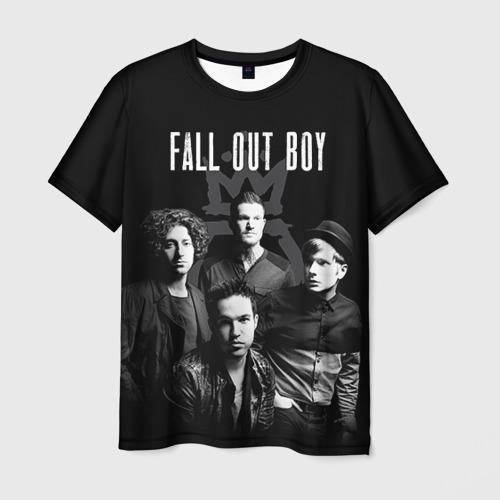 Мужская футболка 3D Группа Fall out boy Фото 01