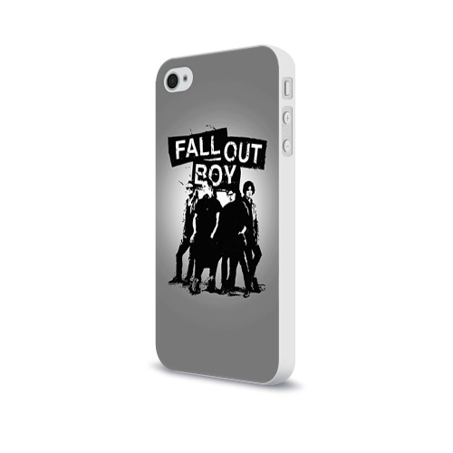 Чехол для Apple iPhone 4/4S soft-touch  Фото 03, Fall out boy