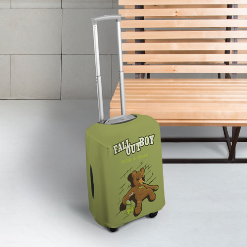 Чехол для чемодана 3D  Фото 03, FoB мишка