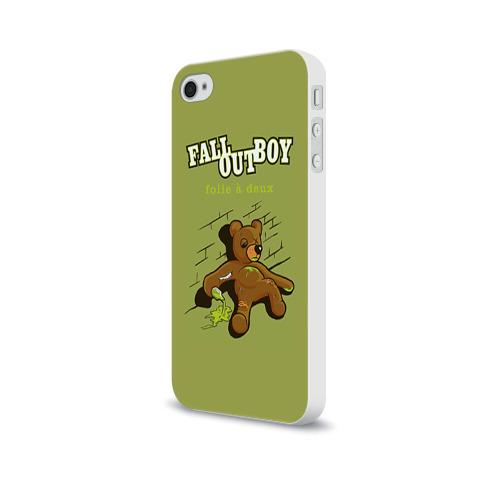 Чехол для Apple iPhone 4/4S soft-touch  Фото 03, FoB мишка