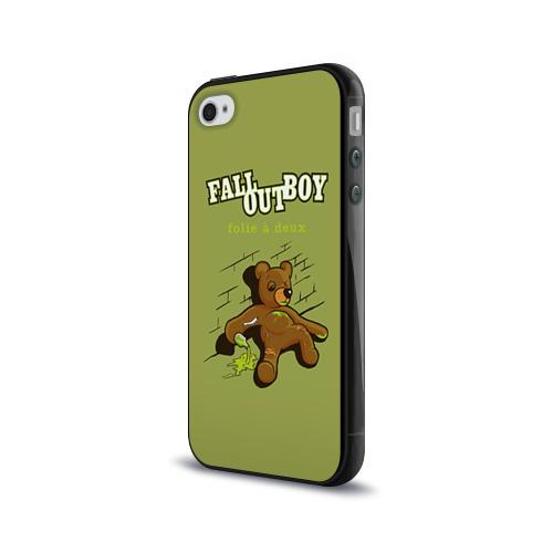 Чехол для Apple iPhone 4/4S силиконовый глянцевый  Фото 03, FoB мишка