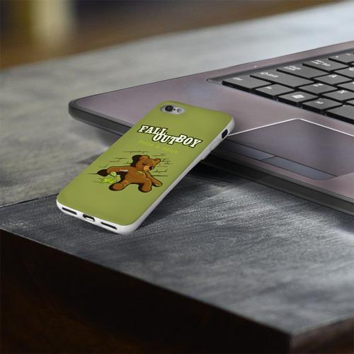 Чехол для Apple iPhone 8 силиконовый глянцевый  Фото 03, FoB мишка