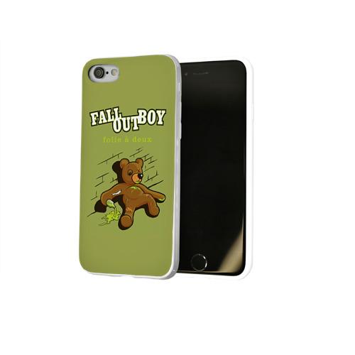 Чехол для Apple iPhone 8 силиконовый глянцевый  Фото 02, FoB мишка