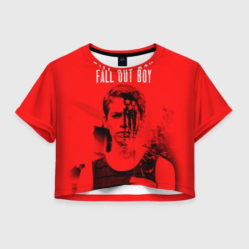 Женская футболка Crop-top 3D FOB
