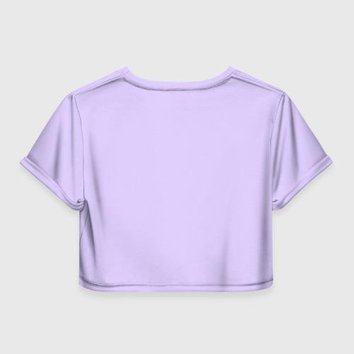 Женская футболка 3D укороченная  Фото 02, All you need is ..