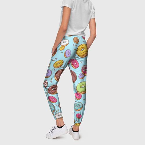 Женские брюки 3D  Фото 02, Пончики Пончики