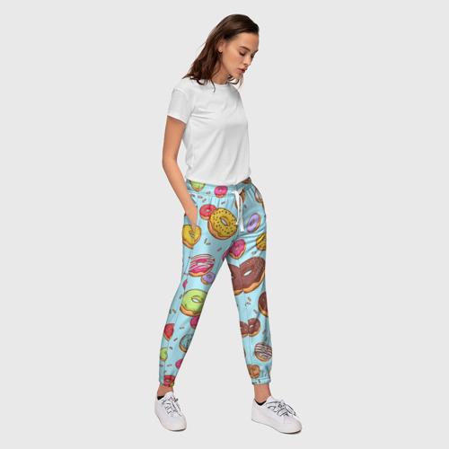 Женские брюки 3D  Фото 03, Пончики Пончики
