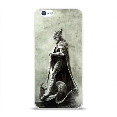 Чехол для Apple iPhone 6 силиконовый глянцевый  Фото 01, Skyrim