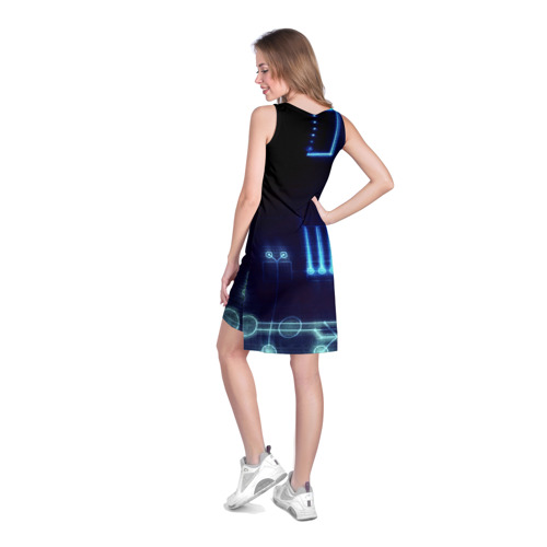 Платье-майка 3D  Фото 04, Схема
