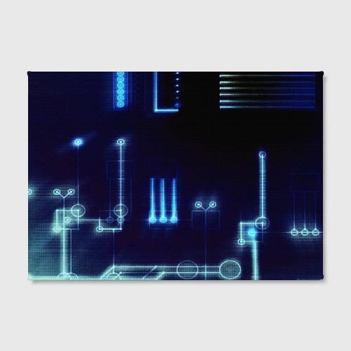 Холст прямоугольный  Фото 02, Схема
