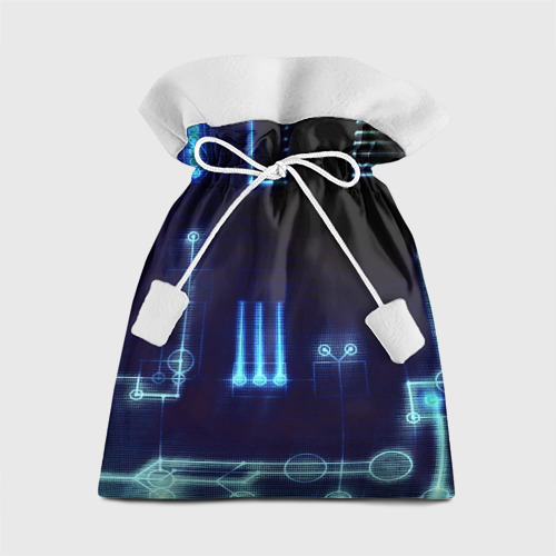 Подарочный 3D мешок Схема