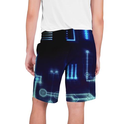 Мужские шорты 3D  Фото 02, Схема