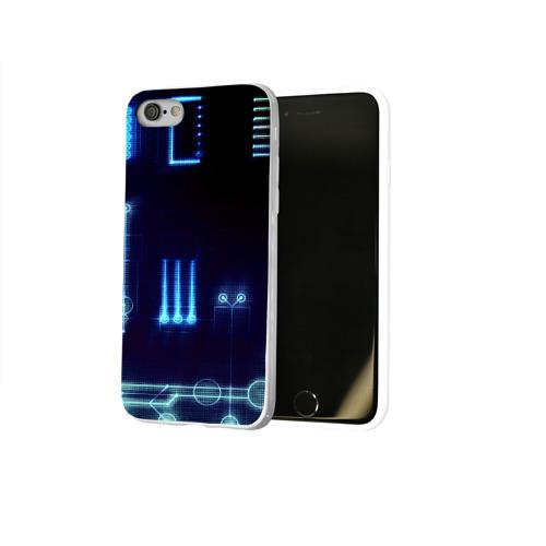 Чехол для Apple iPhone 8 силиконовый глянцевый  Фото 02, Схема