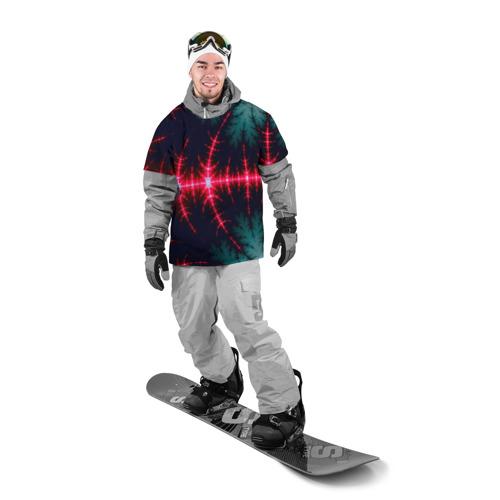 Накидка на куртку 3D  Фото 03, Звуковые волны