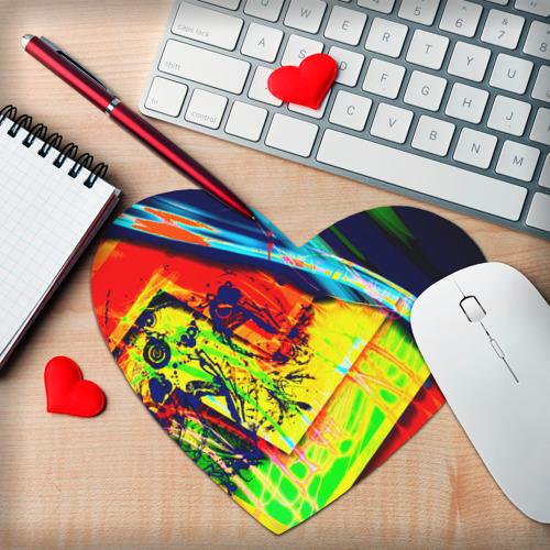 Коврик для мыши сердце  Фото 02, Urban style