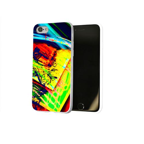 Чехол для Apple iPhone 8 силиконовый глянцевый  Фото 02, Urban style