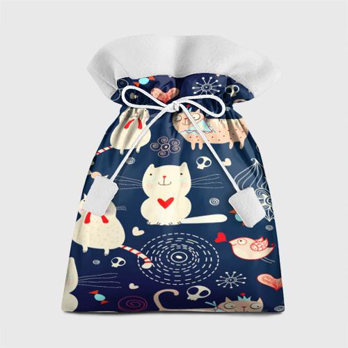 Подарочный 3D мешок Котятки