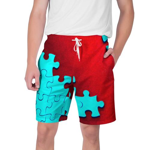 Мужские шорты 3D Пазл
