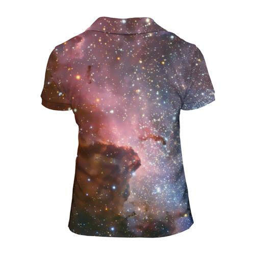 Женская рубашка поло 3D  Фото 02, Космос