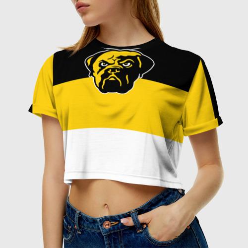 Женская футболка 3D укороченная  Фото 01, Имперка