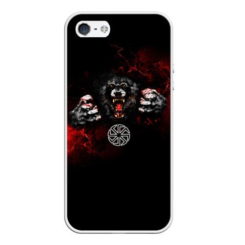 Чехол силиконовый для Телефон Apple iPhone 5/5S Ярость Коловрата от Всемайки