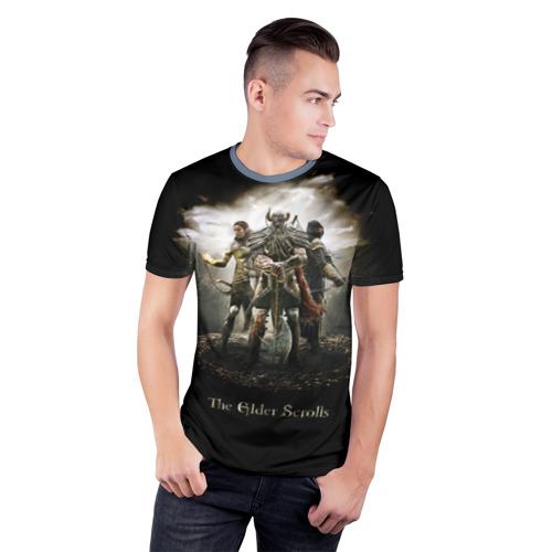 Мужская футболка 3D спортивная  Фото 03, The Elder Scrolls