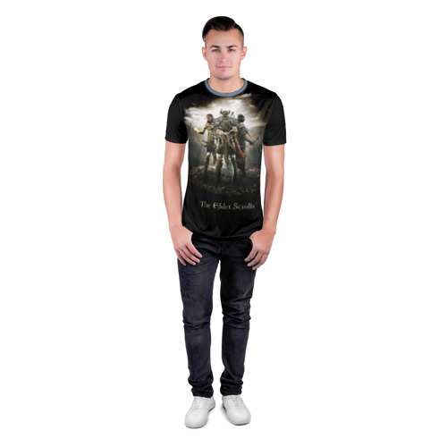 Мужская футболка 3D спортивная  Фото 04, The Elder Scrolls