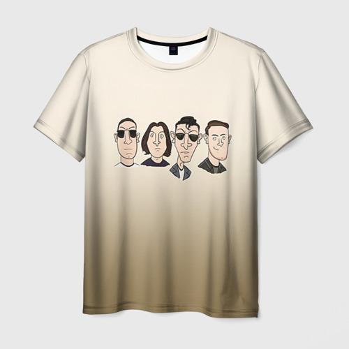 Мужская футболка 3D Arctic Monkeys 1 Фото 01