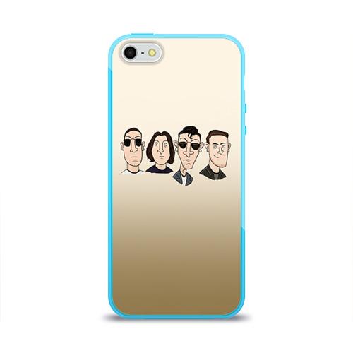 Чехол для Apple iPhone 5/5S силиконовый глянцевый Arctic Monkeys 1 Фото 01