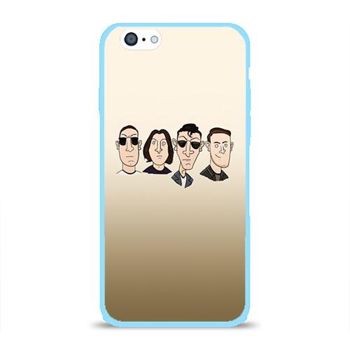 Чехол для Apple iPhone 6 силиконовый глянцевый Arctic Monkeys 1 Фото 01