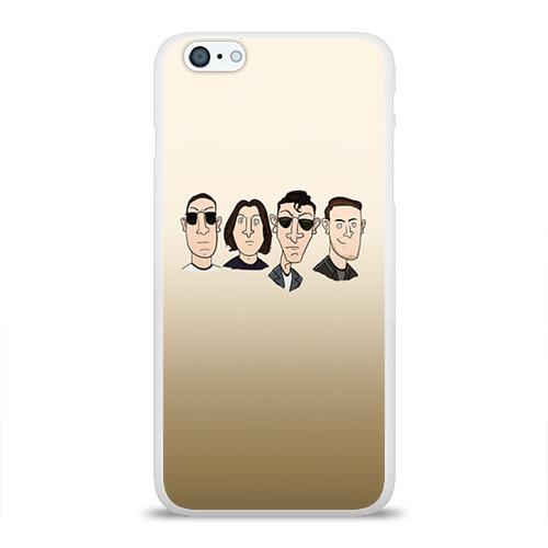 Чехол для Apple iPhone 6Plus/6SPlus силиконовый глянцевый  Фото 01, Arctic Monkeys 1